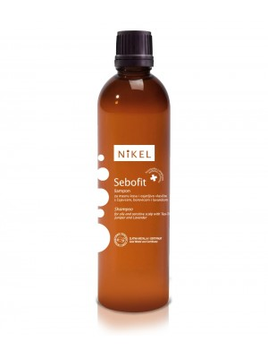 NiKEL Sebofit šampon za mastne lase in občutljivo lasišče